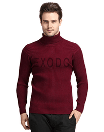 beatle sweater hombre burdeo