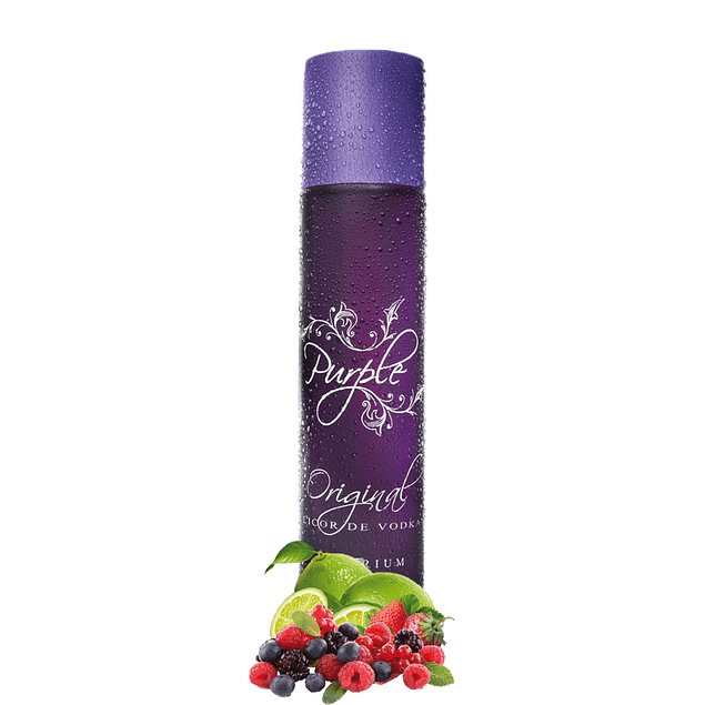 PURPLE VODKA 70cl 20% ORIGINAL FRUTOS SILVESTRES
