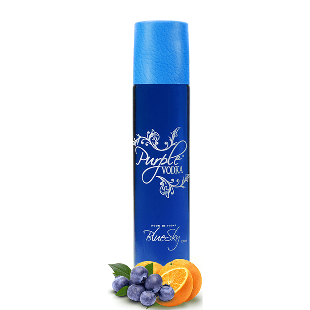 PURPLE VODKA 70cl 20% BLUE SKY