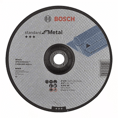 Disco de corte curvo para metal 230mm Standard for Metal BOSCH
