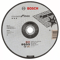 Disco de corte curvo 230mm Standard for Inox BOSCH