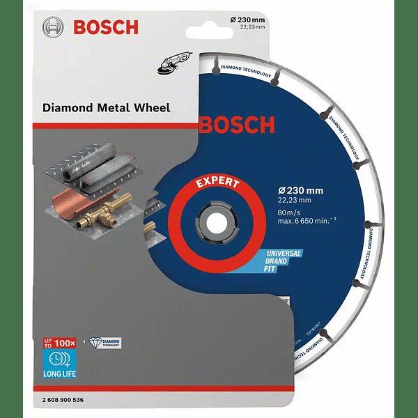 Disco de corte com diamante para metal 230mm BOSCH
