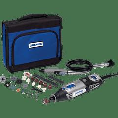 DREMEL 4000 com Veio flexível + 45 acessórios