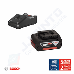 Conjunto 1 bateria 18V 4.0 Ah e carregador BOSCH