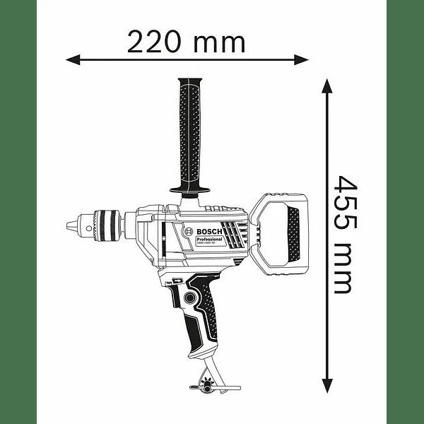 Berbequim e misturador GBM 1600 RE BOSCH