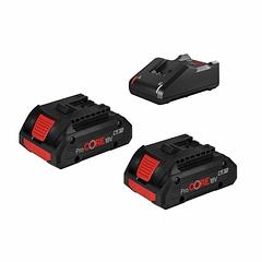 Conjunto 2 baterias ProCORE 18V 4.0Ah e carregador BOSCH
