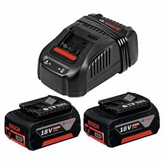 Conjunto 2 baterias 5.0Ah e carregador 18 Volts BOSCH