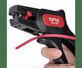Alicate descarnar fio automático com dispositivo de corte - TOPTUL