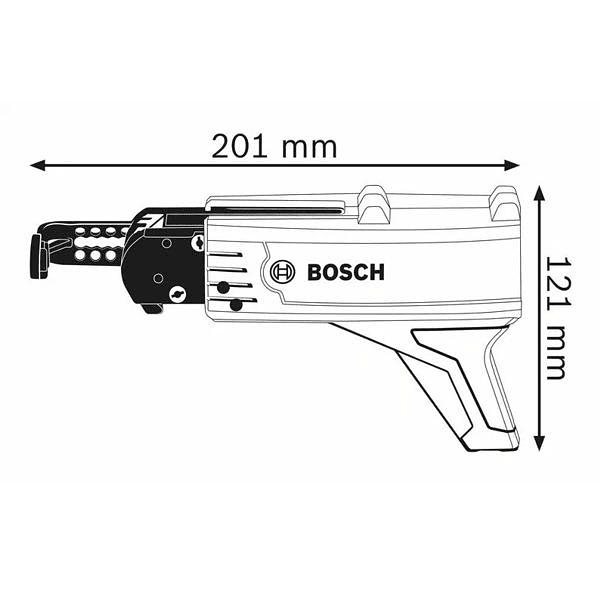 Alimentador automático parafusos pladur MA55 BOSCH