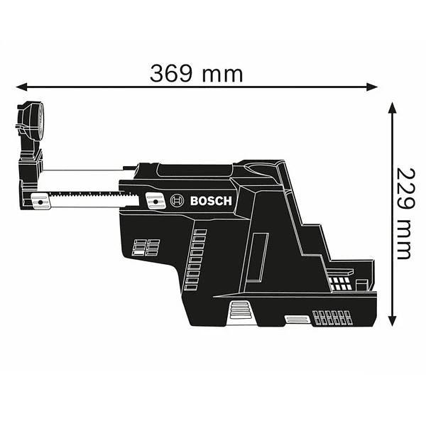 Sistema de aspiração GDE 18V-16 BOSCH