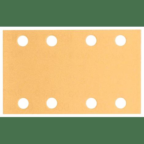 10 un. Folha de lixa 80x133mm C470 Best for Wood and Paint BOSCH