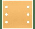 10 un. Folha de lixa 115x107mm C470 Best for Wood and Paint BOSCH
