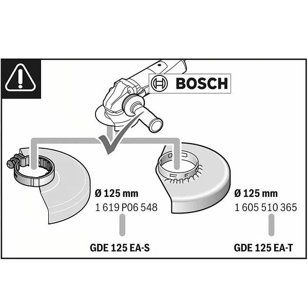 Colector de pó para rebarbadoras 125mm GDE 125 EA-S BOSCH