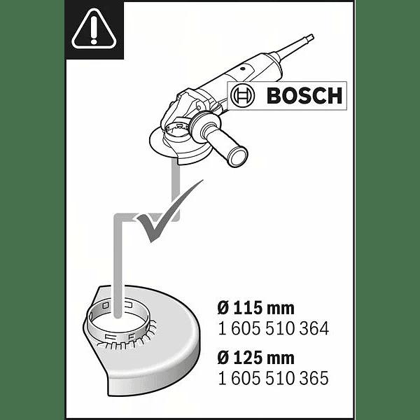 Colector de pó para rebarbadoras 115/125mm GDE 115/125 FC-T BOSCH
