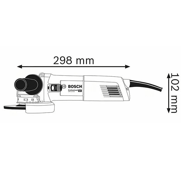 Rebarbadora X-LOCK 1000W GWX 10-125 BOSCH