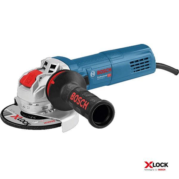 Rebarbadora X-LOCK com regulador de velocidade GWX 9-125 S BOSCH