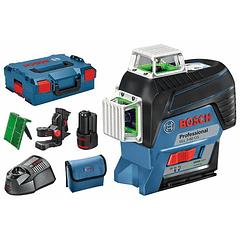 Nivel laser 3 Linhas Verdes GLL 3-80 CG + BM1 Professional BOSCH