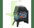 Nivel Laser combinado de 2 linhas verdes GCL 2-15 G BOSCH