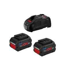 Conjunto 2 baterias ProCORE18V 5.5Ah + carregador BOSCH