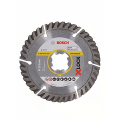 Disco de corte universal diamante X-LOCK 115mm BOSCH