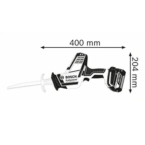 Serra sabre a bateria 18V GSA 18V-LI C BOSCH