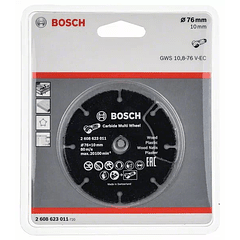 Disco corte 76mm para madeira/multimaterial Carbide Multi Wheel Bosch