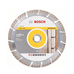 Disco de corte 230mm universal diamante BOSCH