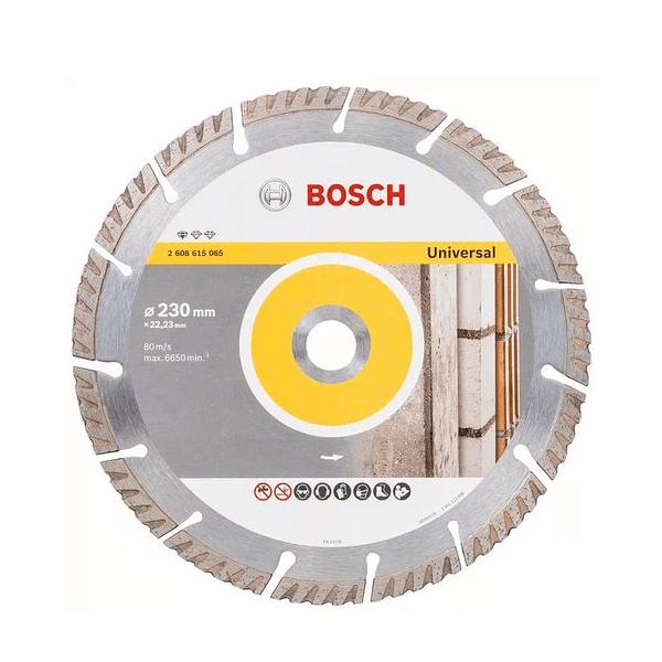 Disco de corte 230mm universal diamante BOSCH
