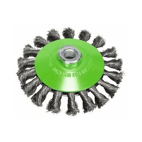 Catrabucha cônica 115mm em disco heavy for inox arame entrançado BOSCH