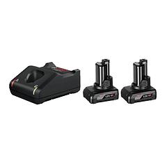 Conjunto 2 Baterias 12V 6.0Ah e Carregador BOSCH