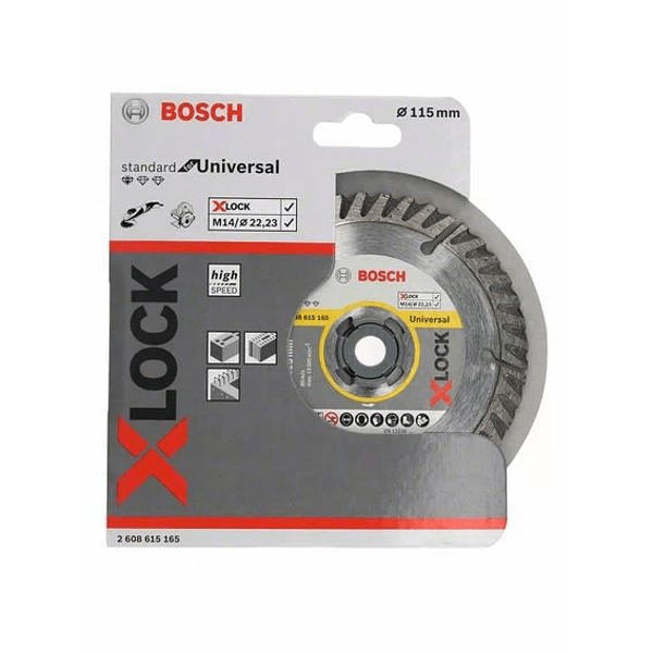 Disco de corte 115mm universal diamante BOSCH