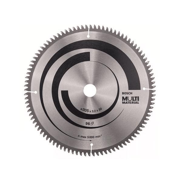 Disco de serra circular Multi Material BOSCH