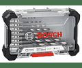 Conjunto de 8 brocas para metal HSS Impact Control BOSCH