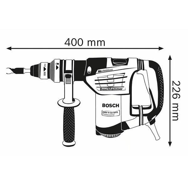 Martelo perfurador SDS Plus GBH 4-32 DFR BOSCH