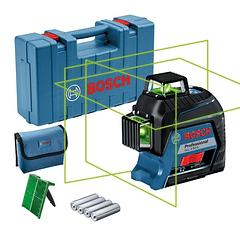 Nivel laser 3 Linhas Verdes GLL 3-80 G BOSCH