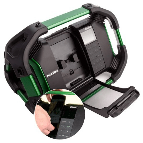 Radio a bateria Bluetooth HIKOKI (Ex HITACHI)
