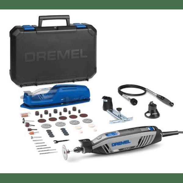Multiferramenta DREMEL 4300 com Veio Flexível + 45 Acessórios