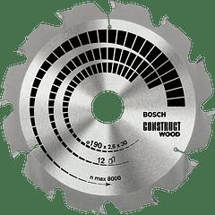 Discos de serra circular para Madeira de Construção BOSCH