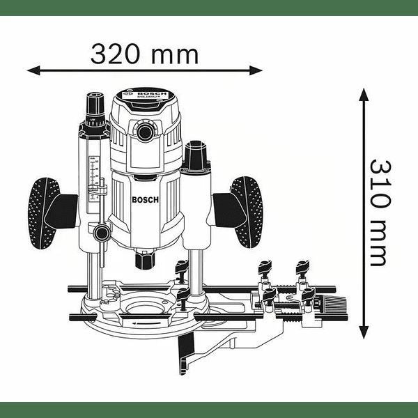 Tupia GOF 1600 CE BOSCH