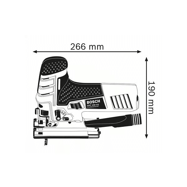 Serra vertical Tico Tico GST 150 CE BOSCH