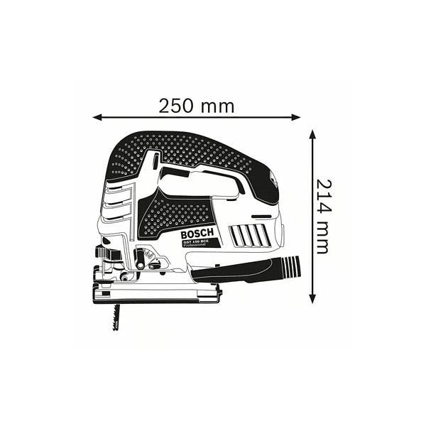 Serra vertical GST 150 BCE BOSCH
