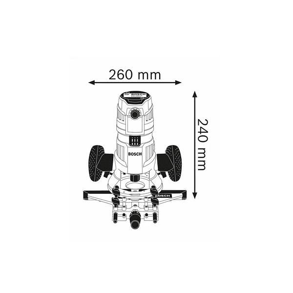 Tupia multifunções GMF 1600 CE BOSCH