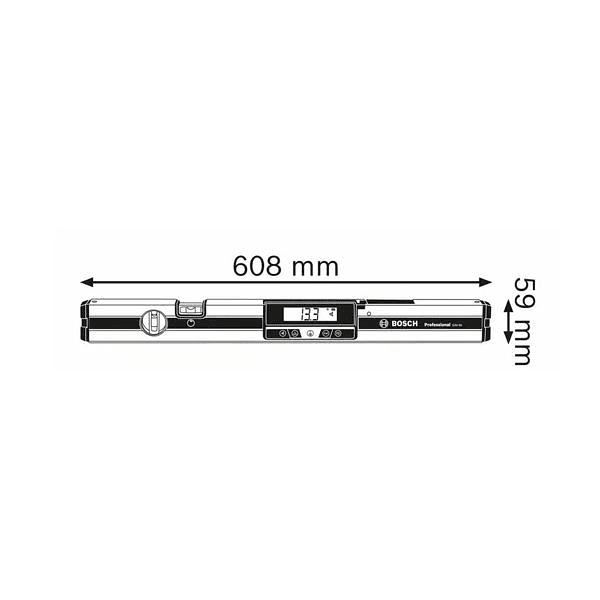 Medidor de inclinações digital GIM 60 BOSCH