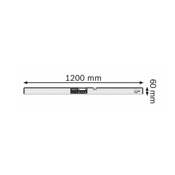 Medidor de inclinações digital GIM 120 BOSCH