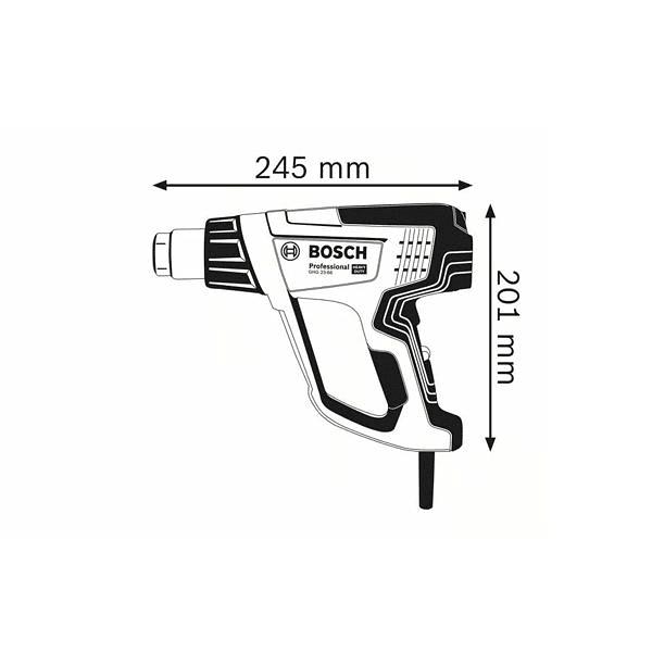 Soprador de ar quente GHG 23-66 BOSCH