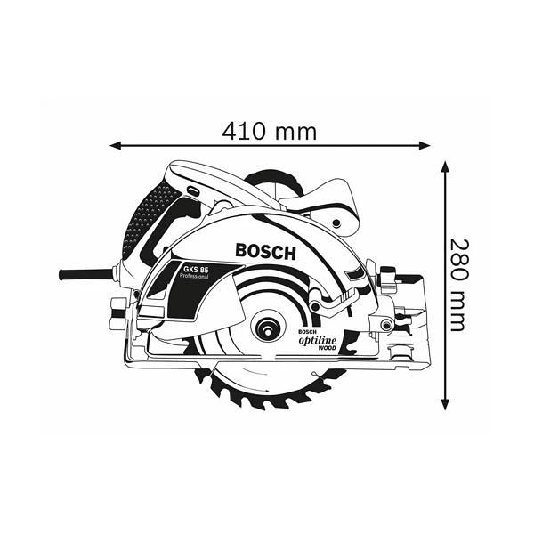 Serra circular manual GKS 85 BOSCH