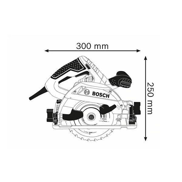 Serra circular manual GKS 55+ G BOSCH