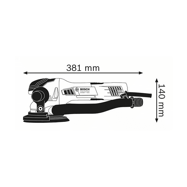 Lixadora excêntrica GET 75-150 BOSCH