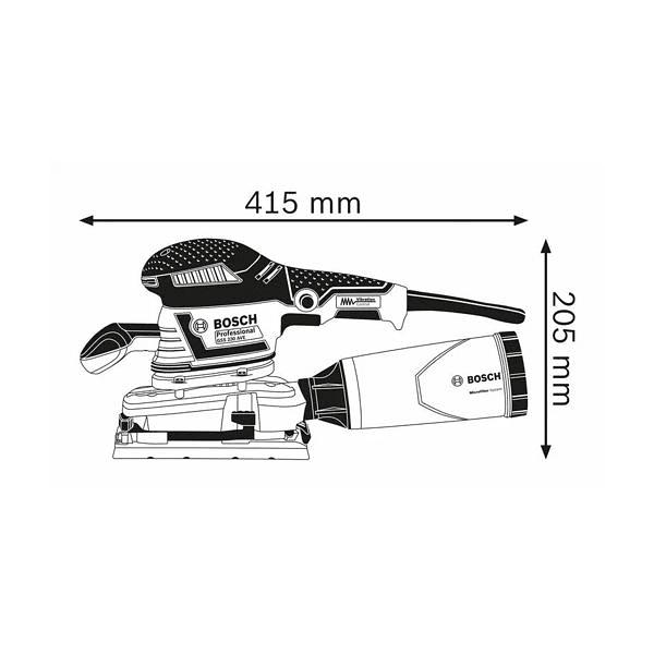 Lixadora vibratória GSS 230 AVE BOSCH