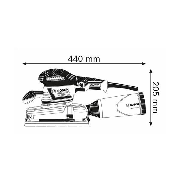 Lixadora vibratória GSS 280 AVE BOSCH